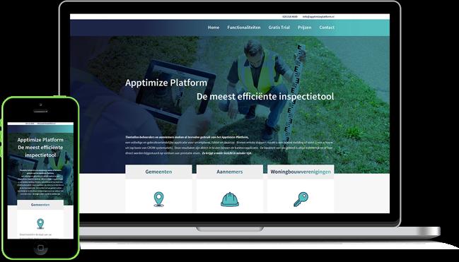 Apptimize Platform Promowebsite