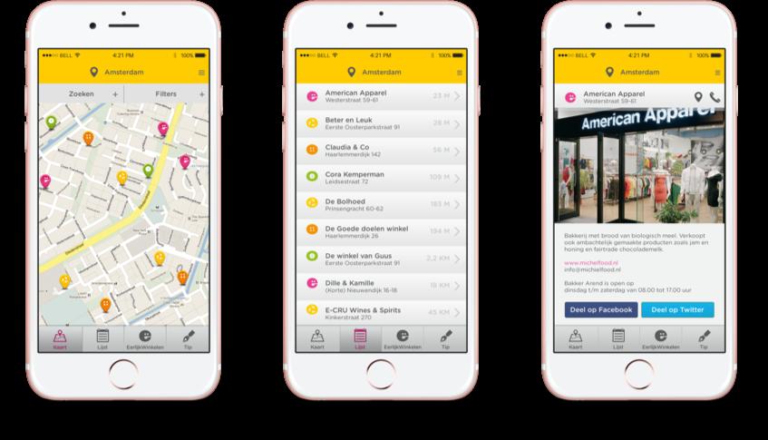 Eerlijk Winkelen iPhone App