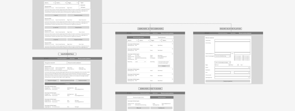 BMC Wireframe Web App