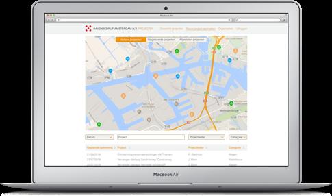 Havenbedrijf Amsterdam Webapp