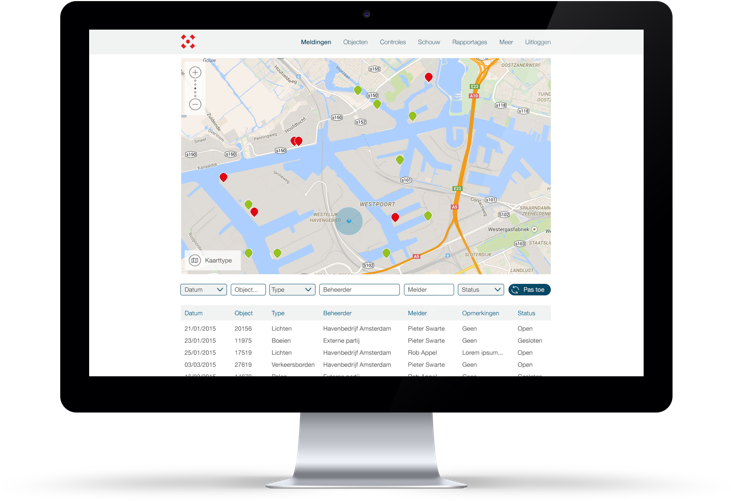 Havenbedrijf Amsterdam Web App
