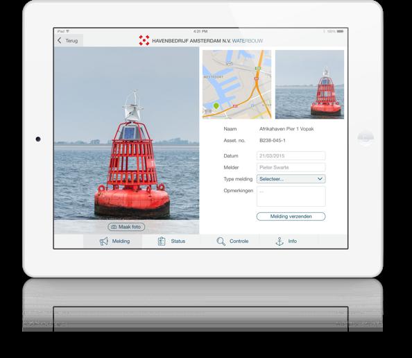Havenbedrijf Amsterdam iPad App