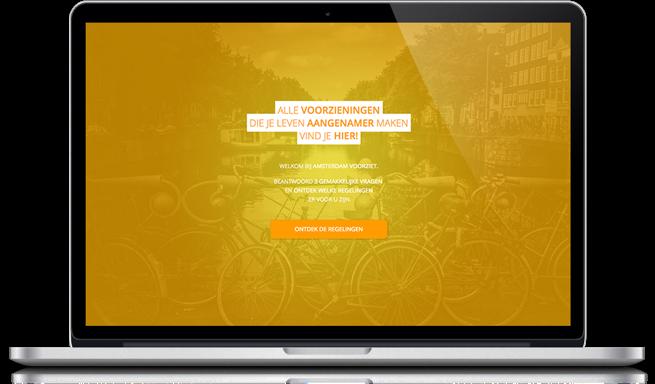 Amsterdam Voorziet Responsive Website