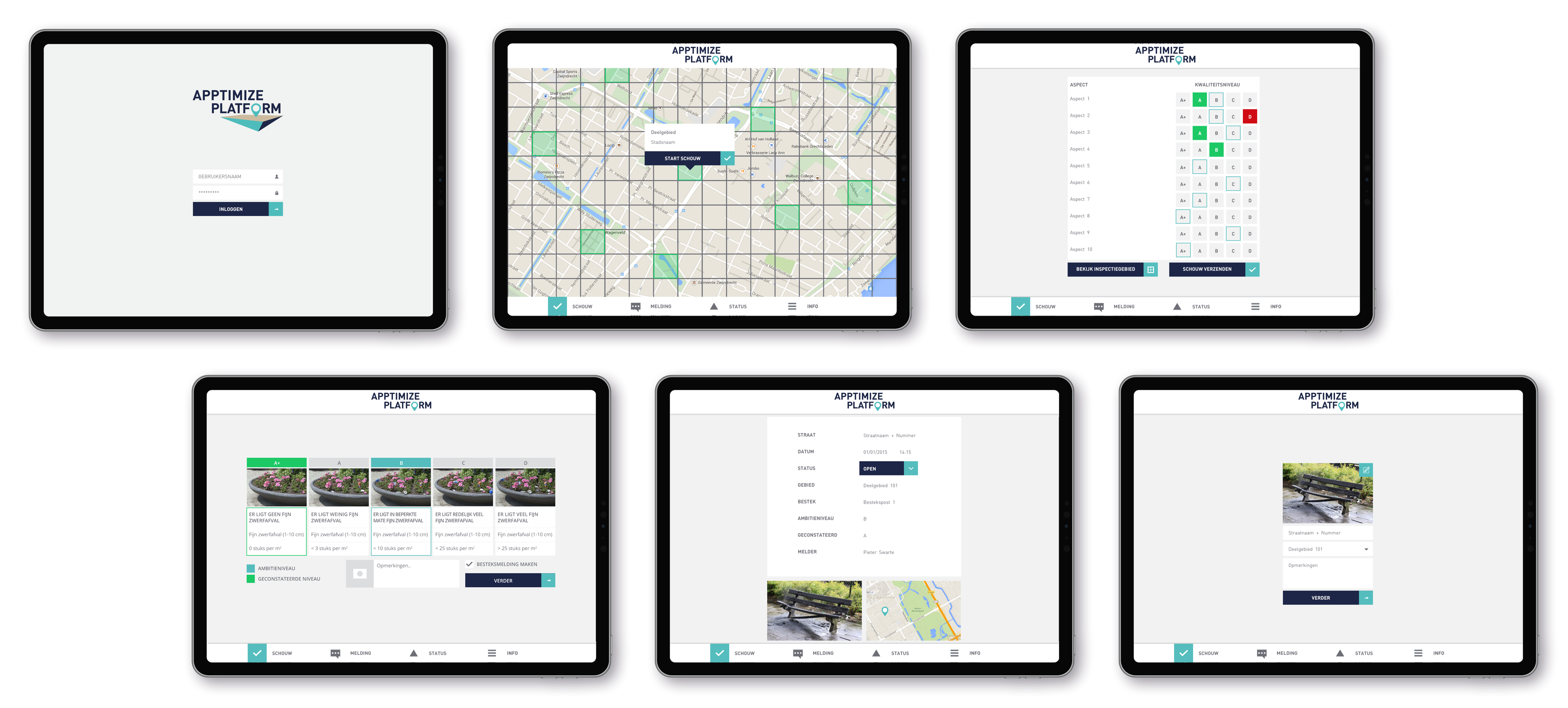 Apptimize Platform iPad app