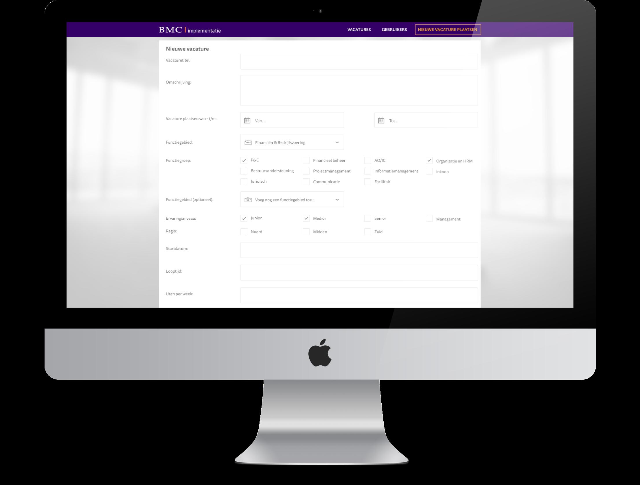 BMC App Vacatureplatform