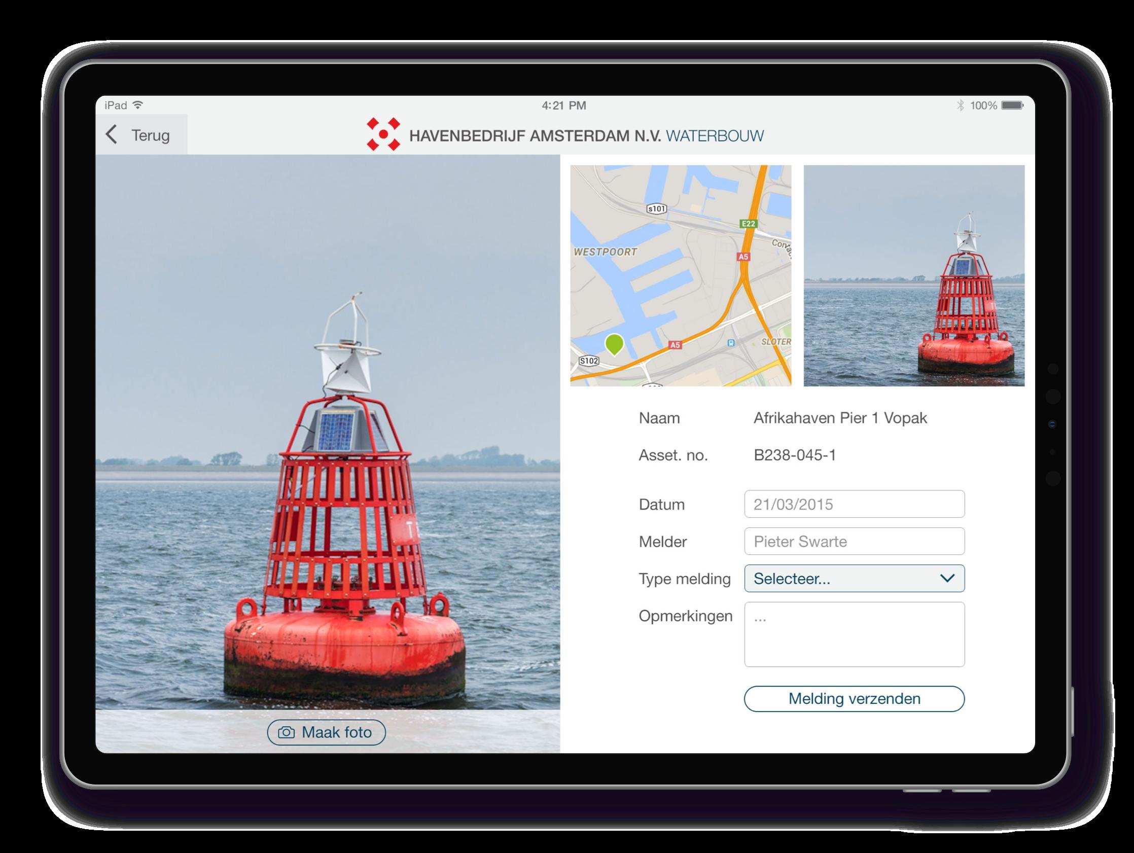 Port Of Amsterdam App Melding