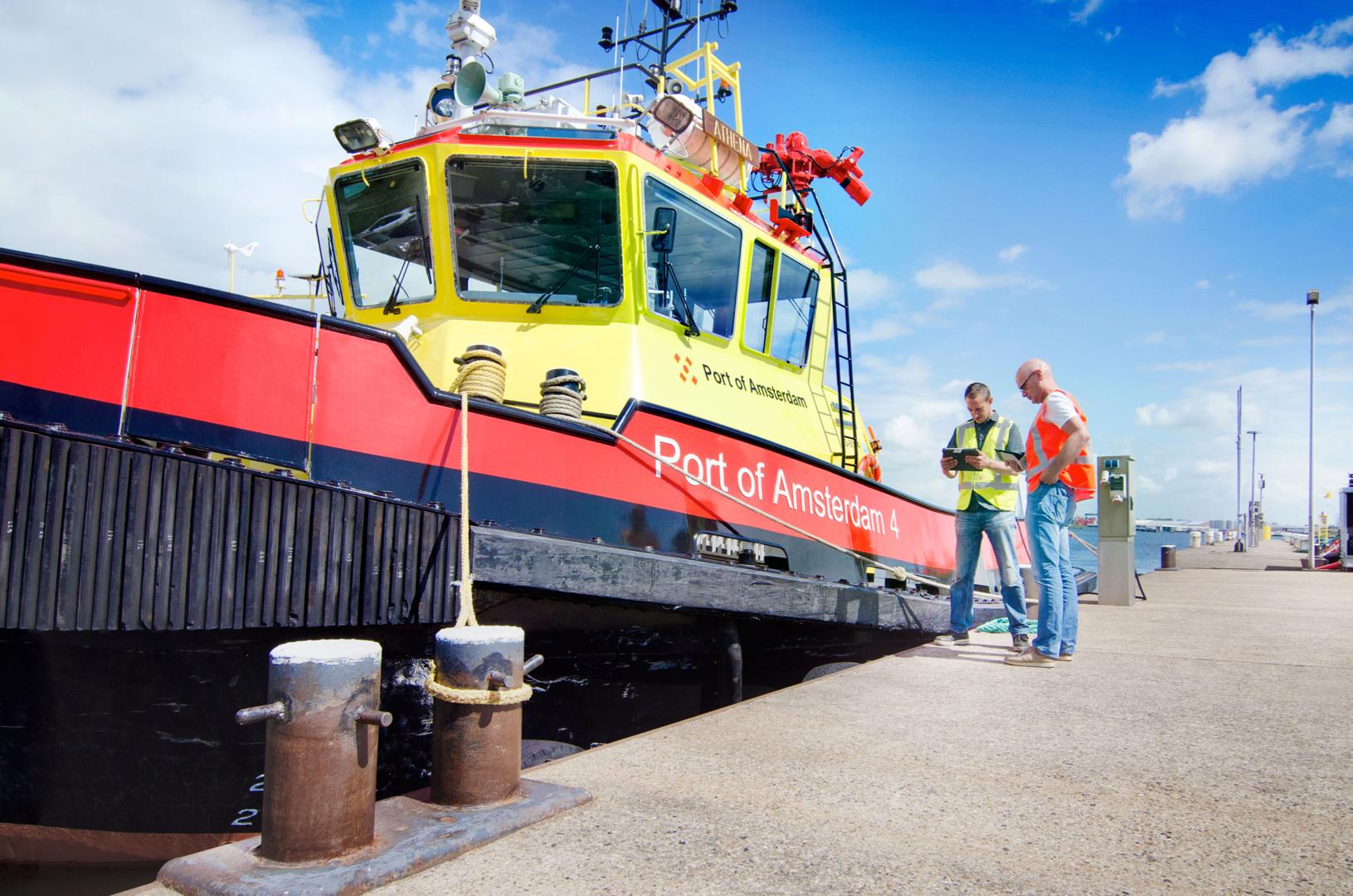 Port Of Amsterdam Platform