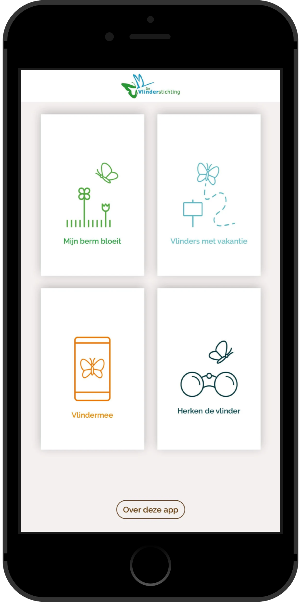 Vlinderstichting Nederland Vlindermee App