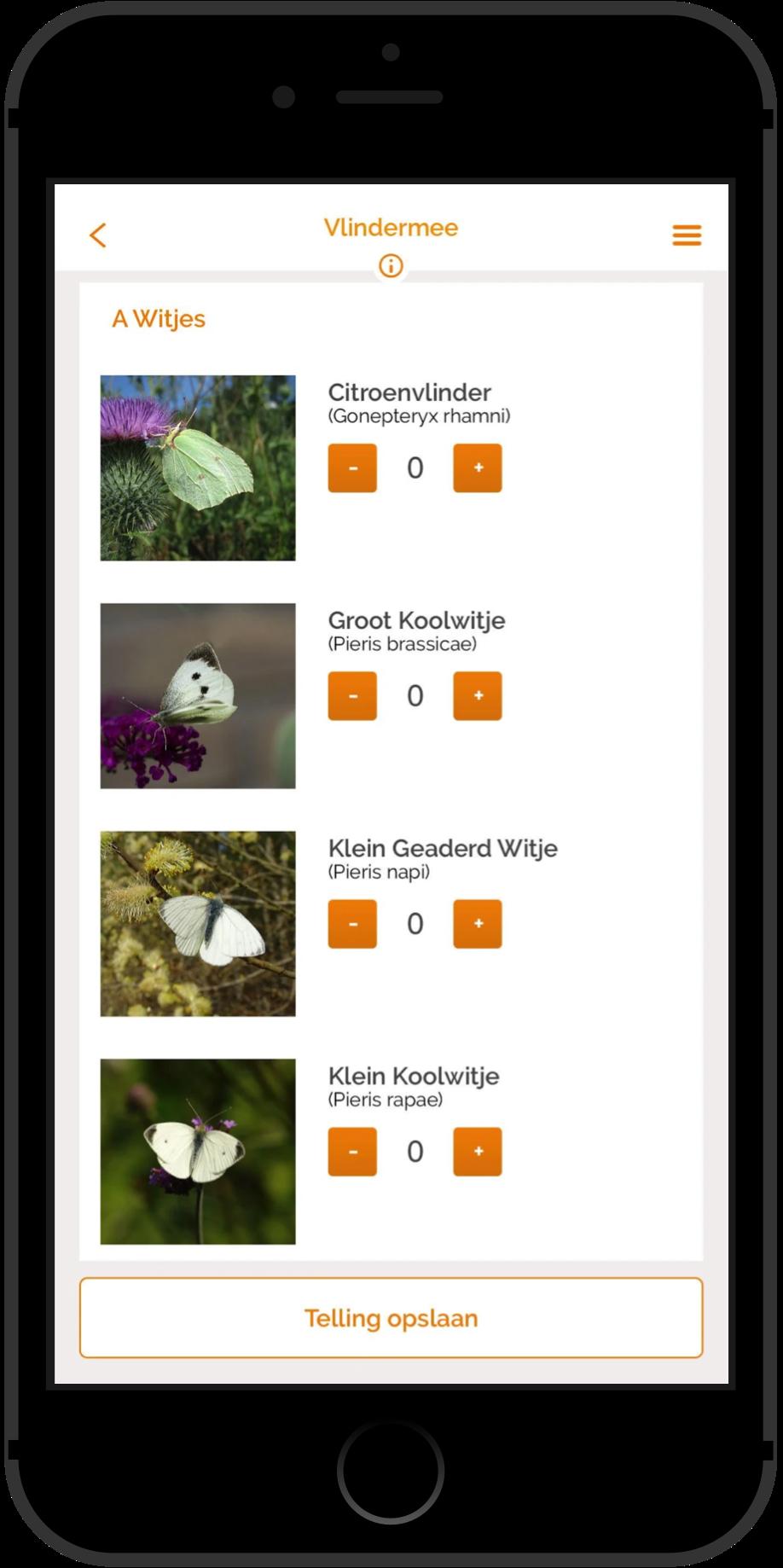 Vlinderstichting Nederland Vlindermee iPhone App