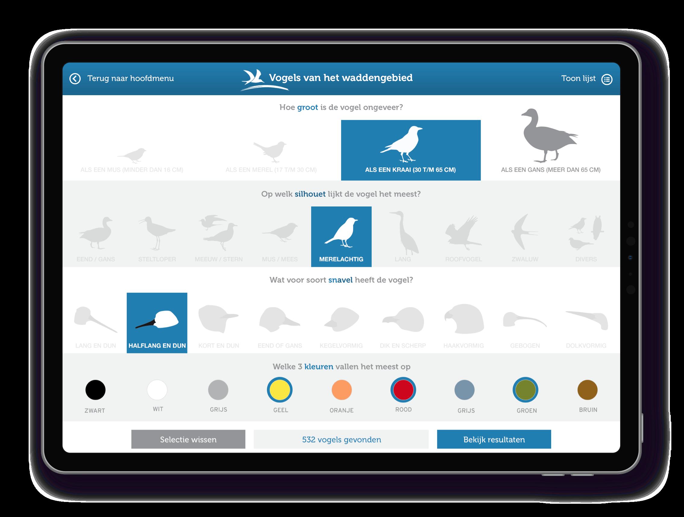Vogelbescherming Nederland Wadvogels App